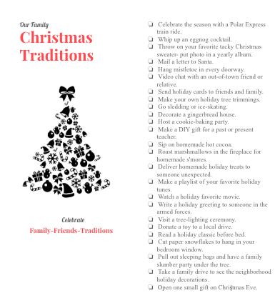25 Christmas Traditions